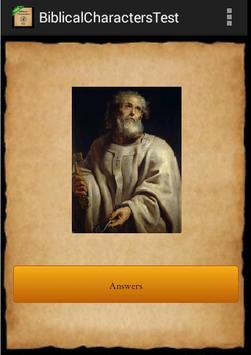 Bible Characters Test screenshot 2