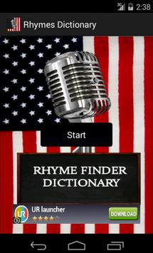 Rhyme Dictionary Finder poster