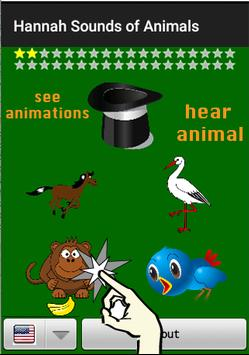Animal Sounds of Hannah - Quiz poster
