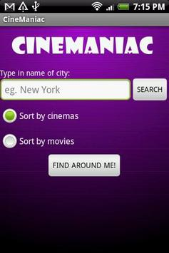 CineManiac screenshot 1