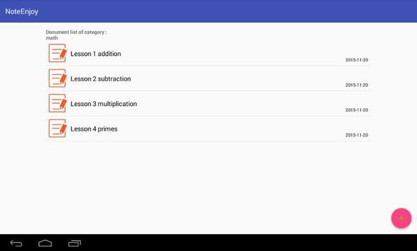 NoteEnjoy - Notepad screenshot 11
