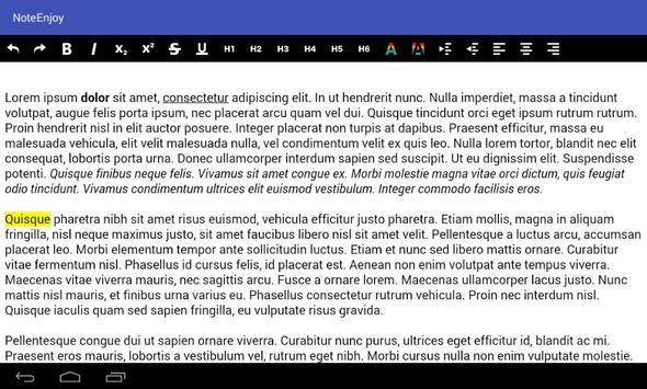NoteEnjoy - Notepad screenshot 12