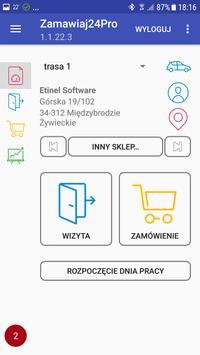 Zamawiaj24 PRO Handlowiec screenshot 8