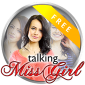 Talking Sexy Miss Girl Free icon