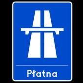 Cennik polskich autostrad icon
