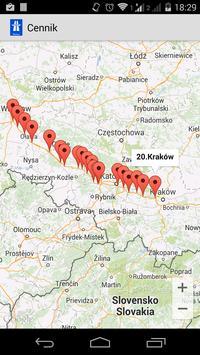 Cennik polskich autostrad apk screenshot