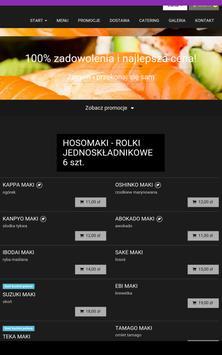 Hoshi Sushi screenshot 2