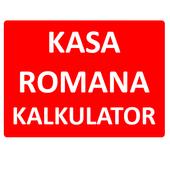 Kasa Romana Kalkulator icon