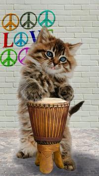 Dancing spinnende kat LWP screenshot 13