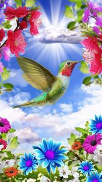 Vogels live wallpaper gratis screenshot 4