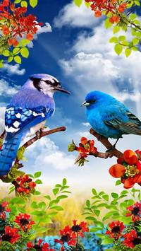 Vogels live wallpaper gratis screenshot 5