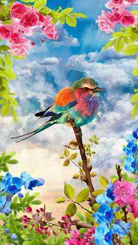 Vogels live wallpaper gratis screenshot 7