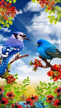 Vogels live wallpaper gratis screenshot 21