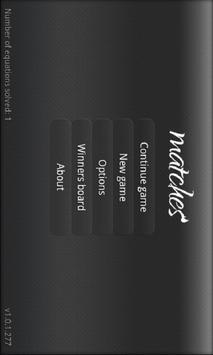 Matches screenshot 5