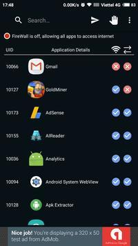Ultra Firewall (Root) apk screenshot