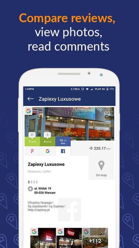 Fudi Local Restaurants Finder Apk Screenshot