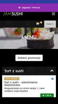 Jani Sushi screenshot 1