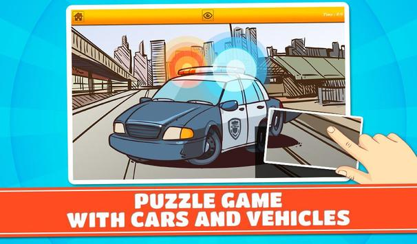 Cars & Vehicles Kids Puzzles 2 screenshot 10