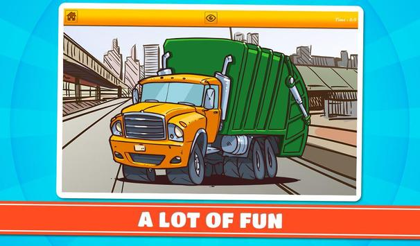 Cars & Vehicles Kids Puzzles 2 screenshot 13
