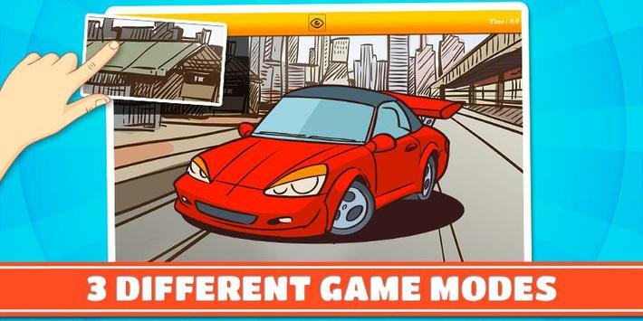 Cars & Vehicles Kids Puzzles 2 screenshot 2