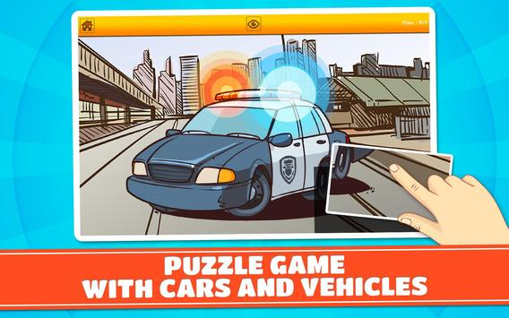 Cars & Vehicles Kids Puzzles 2 screenshot 5