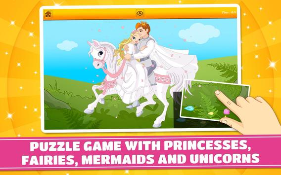 Princesses and Fairies Puzzles screenshot 5