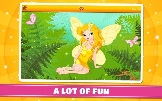 Princesses and Fairies Puzzles screenshot 8