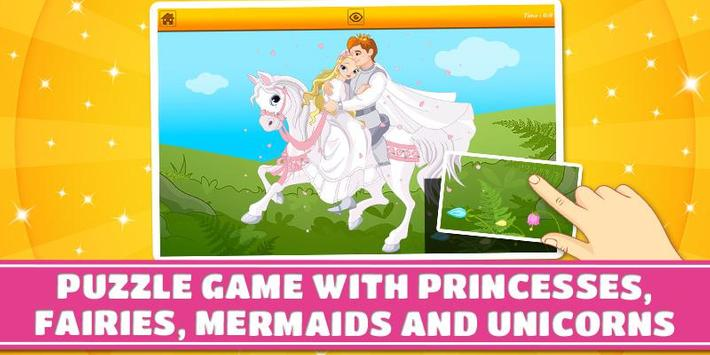 Princesses and Fairies Puzzles poster