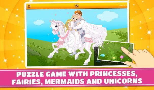Princesses and Fairies Puzzles screenshot 10