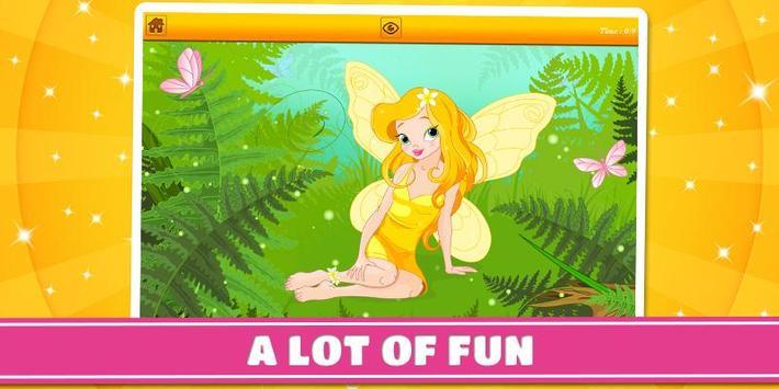 Princesses and Fairies Puzzles screenshot 3