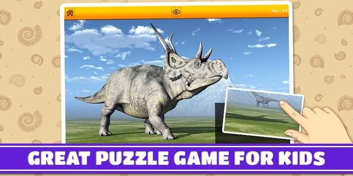 Dinosaurs 3D Kids Puzzles poster
