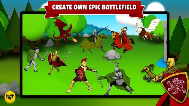 Sticker Play Knights for Kids apk screenshot