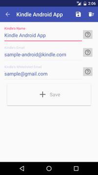 Upload To Kindle screenshot 2