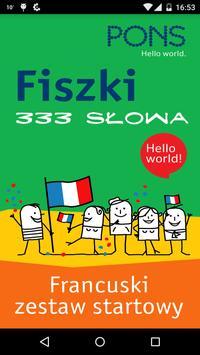 Fiszki PONS - 333 słów francuskich poster