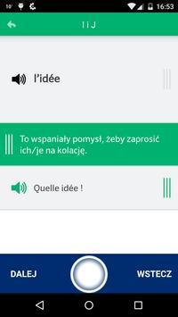 Fiszki PONS - 333 słów francuskich screenshot 3