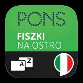 Fiszki na ostro PONS - włoski icon