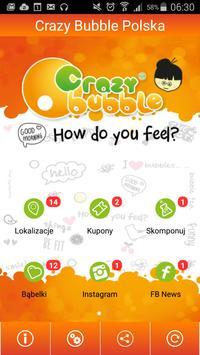Crazy Bubble Polska poster