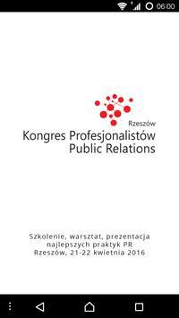 Kongres PR 2016 poster