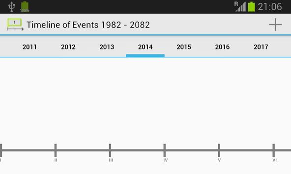 Timeline of Events screenshot 1