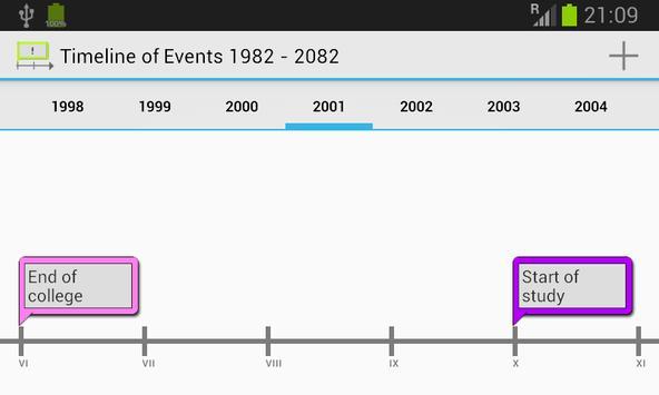 Timeline of Events screenshot 3
