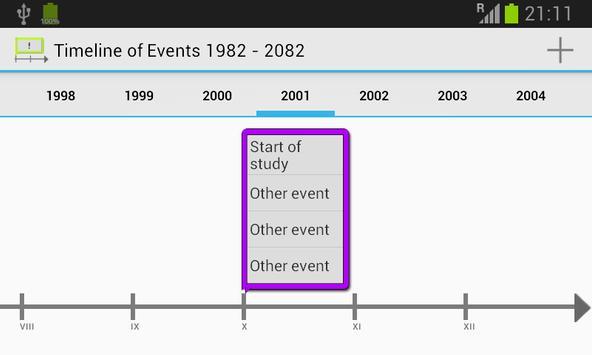 Timeline of Events screenshot 5
