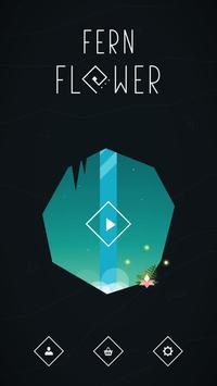 Fern Flower poster