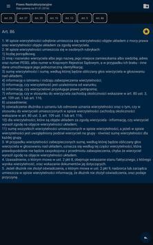 Prawo restrukturyzacyjne apk screenshot