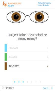 Kalkulator koloru oczu dziecka apk screenshot