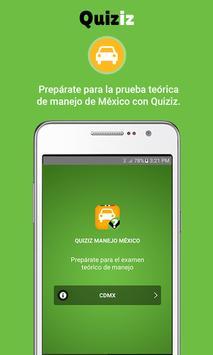 Quiziz Manejo poster