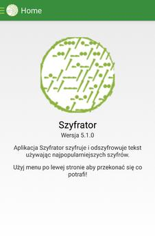 Szyfrator poster