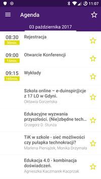 """Konferencja """"Edukacja w Akcji: Tech-School"""" apk screenshot"""