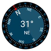Compass Galaxy icon