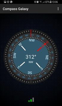 Compass Galaxy الملصق