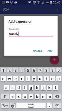 D2A - Dictionary to Anki apk screenshot